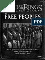 LOTR SBG Sourcebook - the Free Peoples