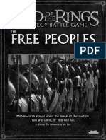 LOTR SBG Sourcebook - the Free Peoples