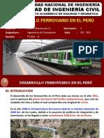1.5 Desarrollo Ferrov Perú