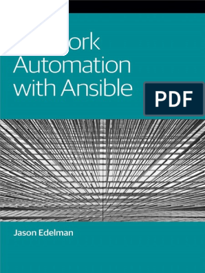 OReilly network automation with Ansible | Application