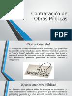 Contratación de Obras Públicas