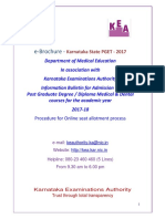 Medical PG Brochure