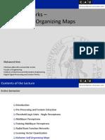 Nn Lect 08 Self Organizing Maps-libre