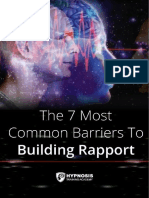 7 Most Common Barriers Rapport