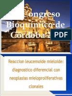 3 Reaccion Leucemoide Mieloide Dra. Graciela Lucero