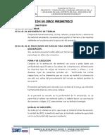 ESPECIFICACIONES CERCO PERIMETRICO