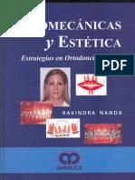 Biomecanica y Estetica en Ortodoncia Clinica Ravindra Nanda