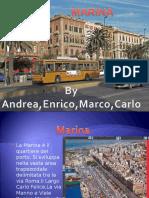 Cagliari, il quartiere della Marina. Presentazione per la scuola media
