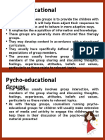 Psycho Educational Group