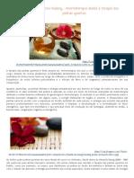 Aroma Stone Healing - Aromaterapia Aliada à Terapia Das Pedras Quentes