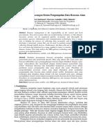 Jurnal-Analisis Dan Perancangan Sistem Pengumpulan Data Bencana Alam