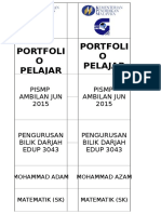 Label Tepi Portfolio