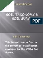 Soil Classification (Taxonomy)