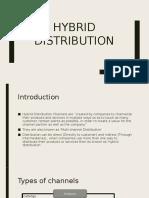 Hybrid Distribution Model
