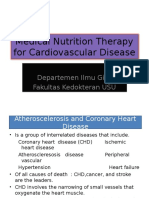 Medical Nutrition Therapy for Cardiovascular Disease 2013
