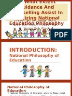 National Education Philosophy