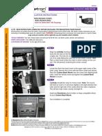 Touareg Mobile Phone Bracket Install AUD-105-03