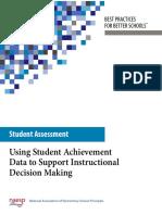assessment data-student achievement blue