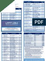 Leaflet Pelatihan 2016