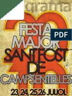 Programa de la Festa Major 2010