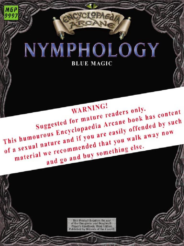 EncyclopaediaArcane Nymphologypdf D20 System Magic