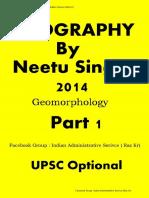 1. Geomorphology by Neetu Singh part 1 of 14. by Raz Kr ( Geography Optional).pdf