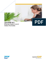 OpenSAP Ds1 Week 3 Unit 2 DETECT Additional Download