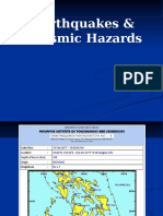Earthquake Hazard Caraga Region