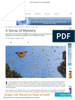 A Sense of Mystery _ The Scientist Magazine®