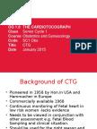 The Cardiotocograph CTG