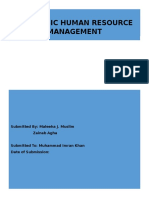 Strategic HRM Report.docx