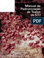 Manual de Padronizacao de Textos Do Stj