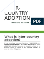 Inter Country Adoption