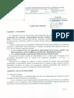 2016-10-17 Caiet de Sarcini - Reparatii Hidroizolatie Cladire CAS Gorj
