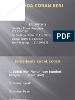 Cacat Pada Coran Besi Cor Kelompok 5