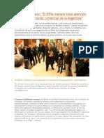 Eduardo Sebriano El Effie Merece Total Atención Por Parte Del Mundo Comercial de La Argentina