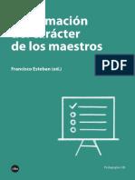 La Formacion Del Caracter Del Maestro