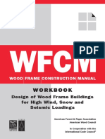 Design of Wood Frame Buildings for High Wind, Snow and Seismic Loadings