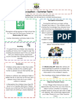 Curriculum Newsletter (Rec Summer 1)