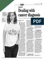5things cancerdiagnosis