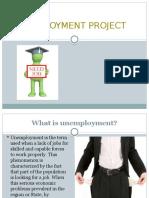 Unemployment Project