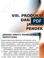 Viii. Produksi Dan Biaya Jangka Pendek