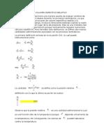Presion Relativa y Volumen Especifico Relativo