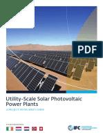Book_Utility-Scale Solar Photovoltaic Power Plants - IfC
