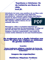 Wood.fordismo Toyotismo e Volvismo 2014