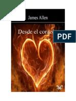 Allen James - Desde El Corazon
