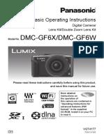 DMC GF6 Operating Instructions 2
