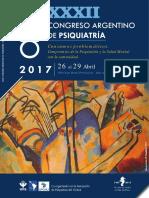 ProgramaXXXII CONGRESO DE APSA Consumos problemáticos. Compromiso de la Psiquiatría y la Salud Mental con la Comunidad.