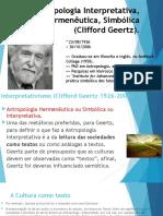 Antropologia Interpretativa e Hermeneutica