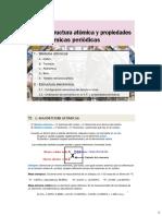 01 Estructura Atómica y Propiedades Atómicas Periódicas